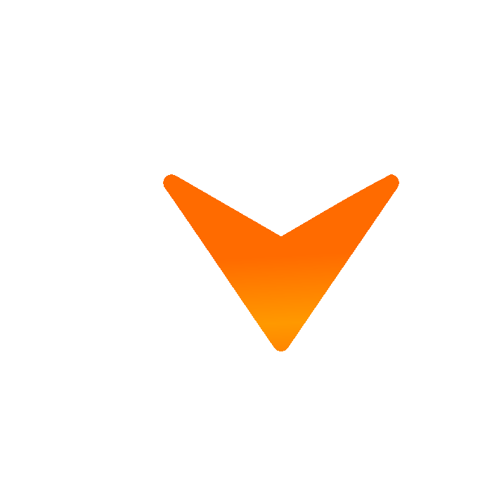 orange arrow down